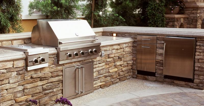 The smart lawn home renovation team landscaping for Outdoor kitchen cost estimator